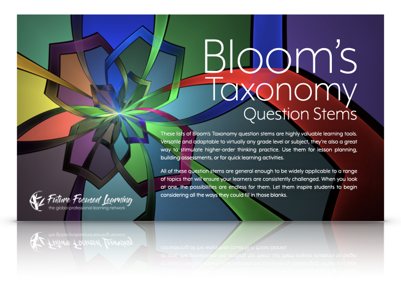 Blooms Question Stems Cover